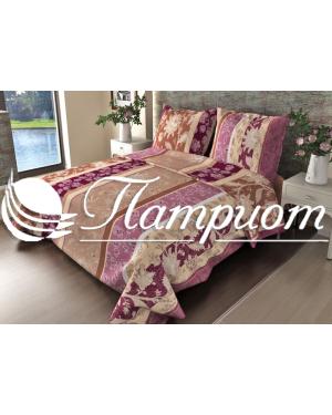 КПБ 1.5 спальный Ажур, фиолетовый, набивная бязь 125 гм2 304-2