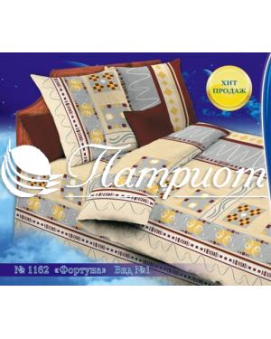 КПБ 1.5 спальный Фортуна, набивная бязь 125 гм2 1162-1